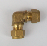 Brass Compression 10mm Microbore Elbow - 24441000